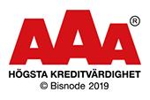Högsta Kreditvärdighet AAA 2019